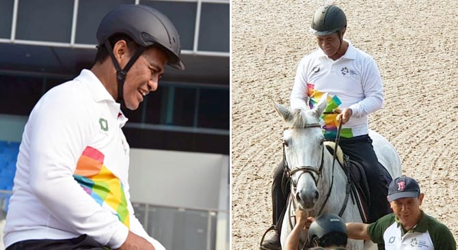 Indonesian Minister Monitors the Jakarta Equastrian Park for 2018 Asian Games