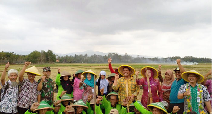 Tabela, Kiat PJ Upsus Jawa Tengah Motivasi Petani Kebumen Percepat Tanam Padi