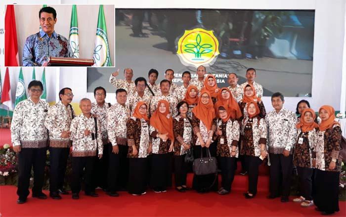 Mentan Luncurkan Polbangtan, Civitas Academi Yogyakarta - Magelang Sambut Antusias