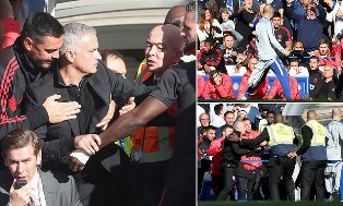 Fuming Manchester United Manager Chases Chelsea Coach Down the Tunnel ?