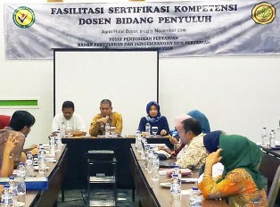Indonesia Seeks to Improve the Competence of Agricultural Lecturers?
