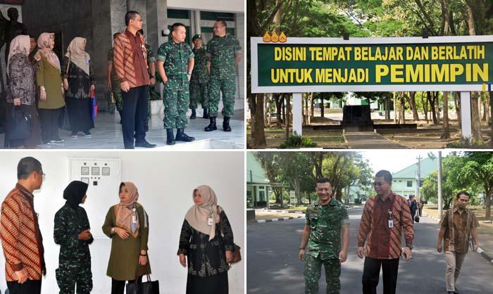 Studi Banding Polbangtan ke Akmil, Ini Berita Foto Sesba BPPSDMP di Magelang