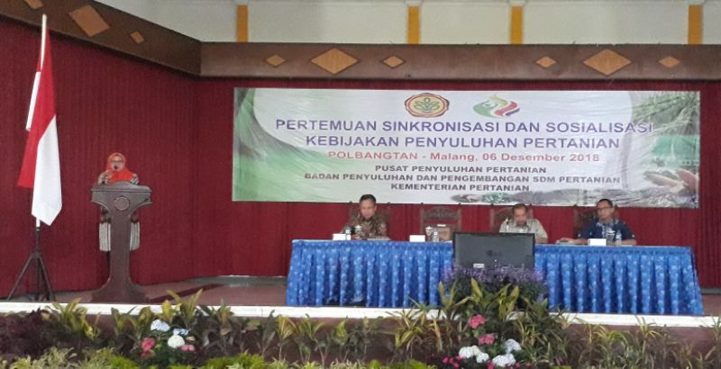 Indonesian Govt Socializes Farmer Cards to Agricultural Extensionist