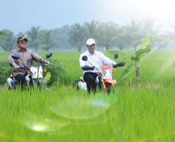Serasi di Banyuasin, Petani Antusias Sambut Program Anyar Kementan