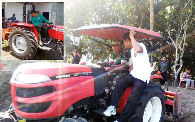 Indonesian`s Local Govt Support the Farmers Optimized Agricultural Machinery