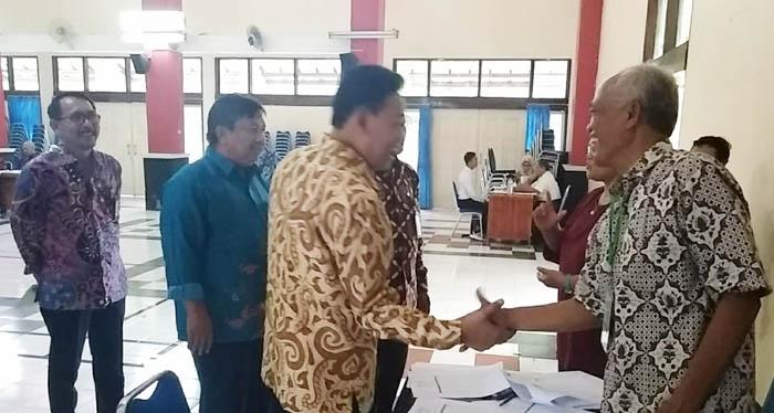 Ujian Tulis Masuk Polibangtan Kementan di STPP Magelang, Ini Berita Fotonya