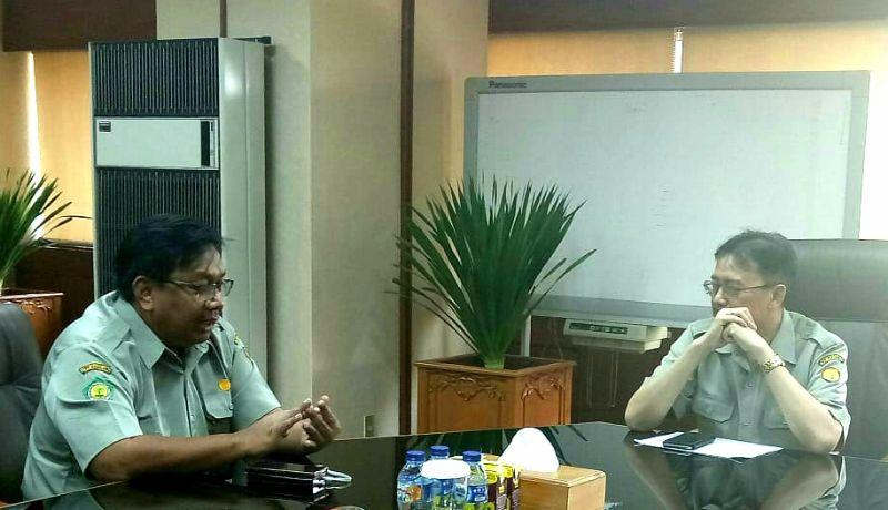 Transformasi Polbangtan Magelang, Ali Rachman Konsultasi dengan Sekjen Kementan
