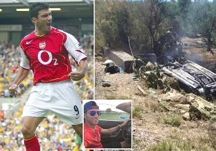 Footballer Jose Antonio Reyes, 35, is Killed in Car Crash in Spain