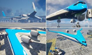 Flying-V was Developed by the Delft Technical University and KLM is Funding the Design ?