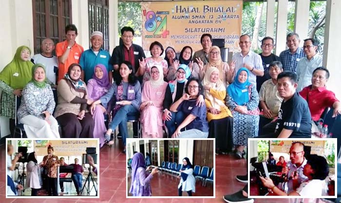 Alumni of Indonesian`s Jakarta 12 Public High School held Reunion