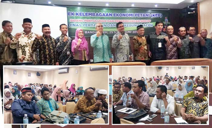 Aceh Provincial Govt Holds Agribusiness Technical Guidance for Farmers