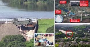 Helikopter Chinook Jatuhkan 400 ton Pasir Antisipasi Bendung Jebol di Inggris