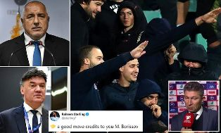 Bulgaria`s PM Demands the Country`s FA President RESIGNS after Fans` Nazi Salutes?