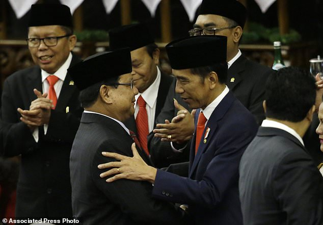 Indonesia´s losing presidential candidate to join Cabinet
