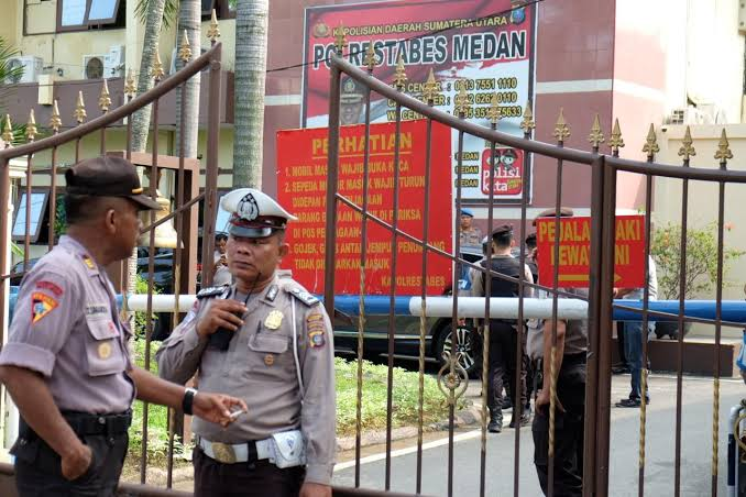 Polri Sebut Pelaku Bom Bunuh Diri Medan Berstatus Mahasiswa