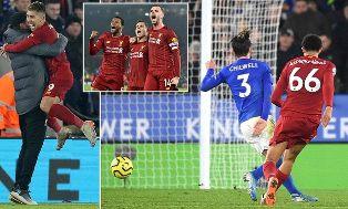 Tekuk Leicester, Liverpool Raih Selisih 13 Poin Pimpin Klasemen Liga Inggris