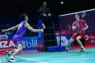 Chou Tien-chen of Taiwan Wins Men`s Singles Title at Indonesia Open?