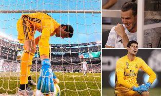 Courtois Kebobolan 5 Gol setelah Klaim sebagai Kiper Terhebat Real Madrid