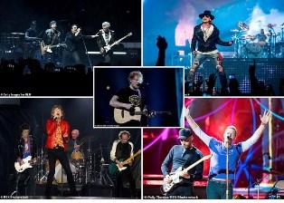 Ed Sheeran Konser Tur Divide Lampaui Rekor U2 sebagai Terlaris Sepanjang Masa