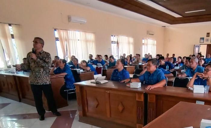 Berita Foto `Verval Data Simluhtan` di Buleleng, Bali