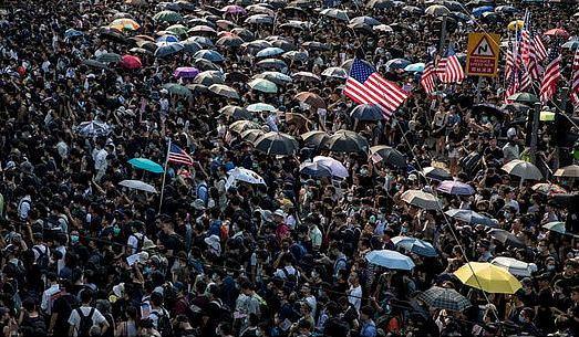Pengunjuk Rasa Hong Kong Minta Presiden Trump Dukung Rakyat