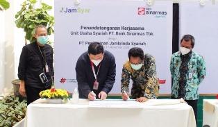 Indonesia`s Jamkrindo Syariah Signed MoU with Sinarmas Bank