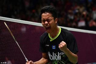 Kalahkan Antonsen, Anthony Ginting Juara Indonesia Masters 2020