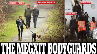 Keluar Istana, Harry dan Meghan di  Kanada masih Dikawal Polisi Inggris