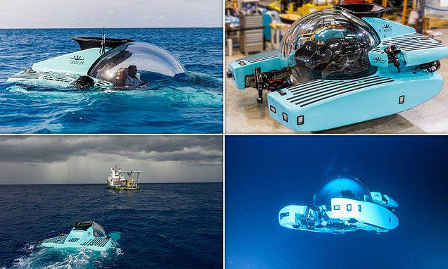 The Incredible Submarine that Can Dive to 3,280 FT