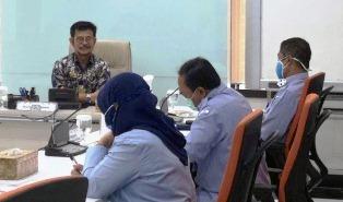 Hari Pertama Syahrul Yasin Limpo, Menteri Kelautan dan Perikanan Ad Interim