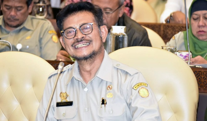Indonesia`s Agriculture Minister Outlines the 2020 Target in Parliament