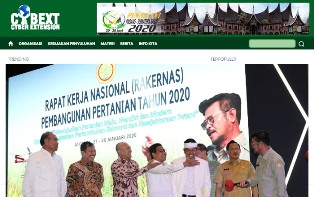 Indonesia`s Agricultural Extension Connected through the KostraTani?