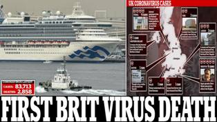 Warga Inggris Dilaporkan Tewas akibat Corona di Kapal Pesiar Diamond Princess