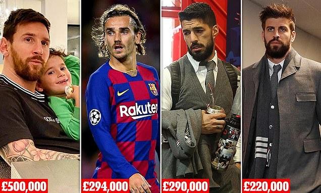 Karantina Bintang Klub, Barcelona Tuntut Potong Gaji Pemain 70% per Pekan