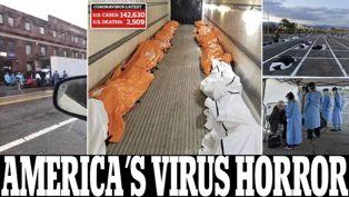 Tembus 2.509, Kabar Horor dari Jenazah Pasien Covid-19 di New York
