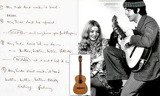 Rp13,65 Miliar Harga Tulisan Tangan Lirik Hey Jude Karya Paul McCartney