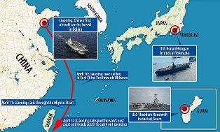 Militer China `Intai Taiwan` setelah Kapal Induk USS Roosevelt Terpaksa Berlabuh karena Corona