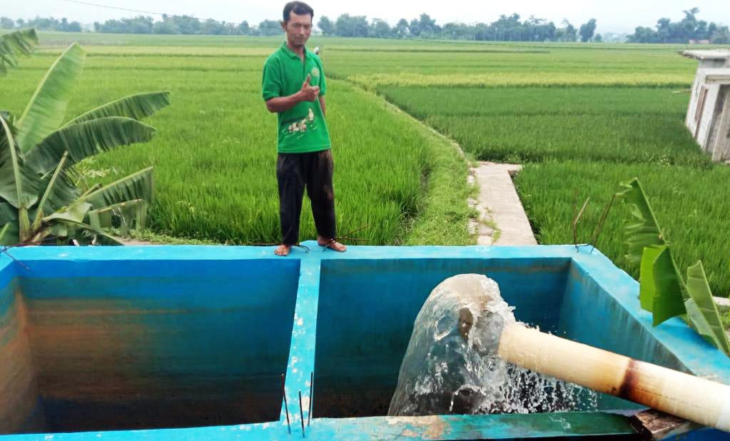 Irrigation Supports Water Needs of Rice Fields across Indonesia