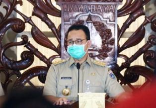 Jakarta Governor Calls Jakartans to Use of Masks for Prevent Covid-19 Transmission?