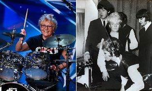 Drummer Gaek, mantan `Groupies` The Beatles Pukau Got Talent Inggris