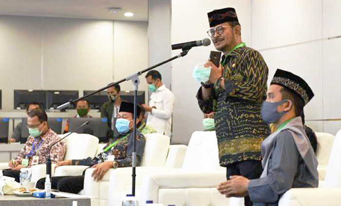 Indonesia`s Agricultural Extension Connected through the War Room