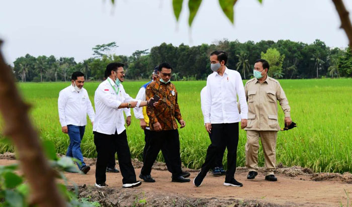 Indonesia´s Widodo Visit to Central Borneo for the Food Estate