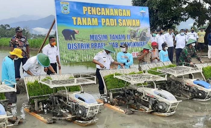 Indonesian Rice Production until December 2020 is Predicted 15 Million Tons