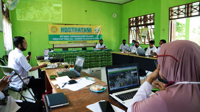 Indonesia`s Agricultural Extension Connected through the KostraTani