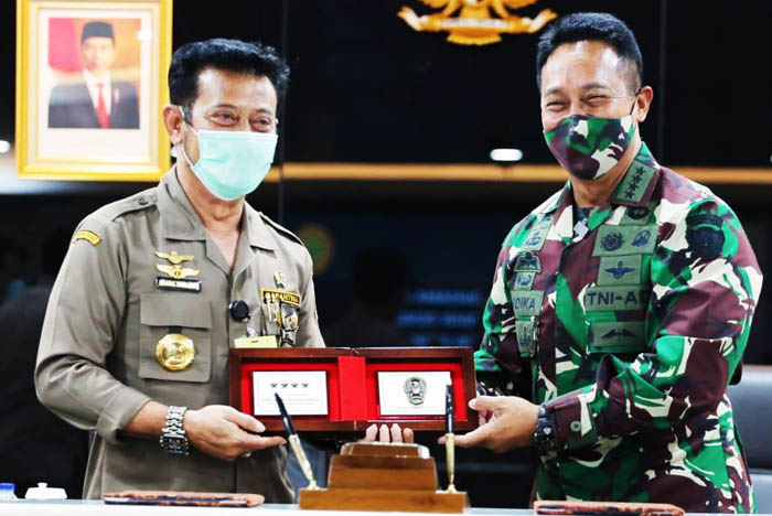 Indonesian Army Support Agriculture Ministry Achieve the Food Security
