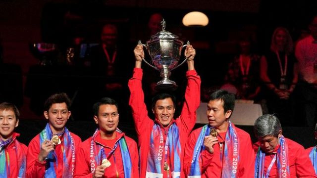 Sanksi WADA, Indonesia Tak Boleh Kibarkan di Thomas Cup 2021