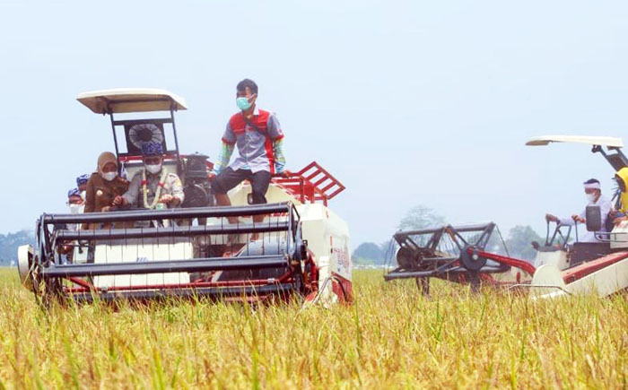 Indonesian Govt and Farmers Commemorate the 2021 World Food Day
