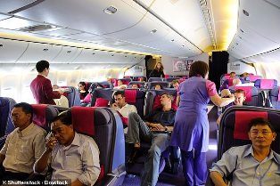 Thailand Larang Makanan dan Majalah di Pesawat
