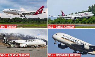 Qantas Nomor Satu, Ini 20 Maskapai Teraman di Dunia