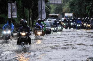 Banjir Landa Jakarta jadi Sorotan Media Asing